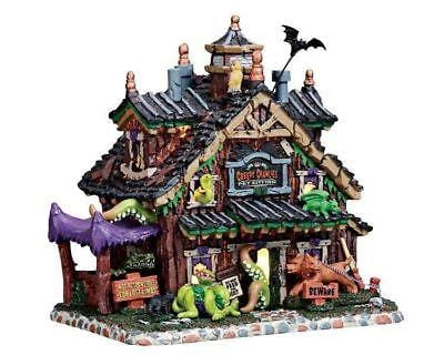 Lemax 2017 Halloween Creepy Crawlies Pet Sitting #75184 NIB  Free Shipping 48 States