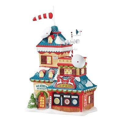 Dept 56 North Pole 2016 Weather Station #4050963 NIB FREE SHIPPING 48 STATES