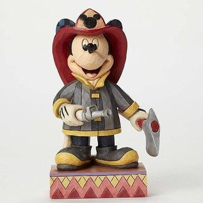 Jim Shore Disney Traditions 2015 Fireman Mickey #4049632 NIB FREE SHIP 48 STATES