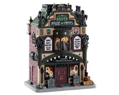 Lemax 2018 The Haunted House Of Props #85312 NIB FREE SHIPPING 48 STATES