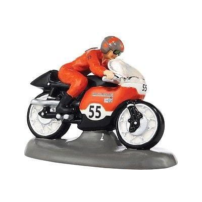 Dept 56 Snow Village 2014 Harley Top Speed #4036574 NIB FREE SHIPPING 48 STATES