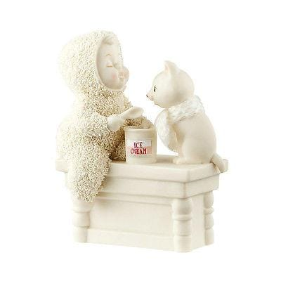 Dept 56 Snowbabies 2016 A Scoop To Soothe The Soul #4051915 NIB FREE SHIP 48 STA