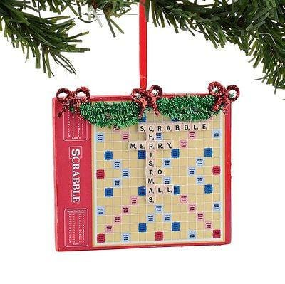 Dept 56 2015 Hasbro Scrabble Ornament #4051769    FREE SHIPPING 48 STATES