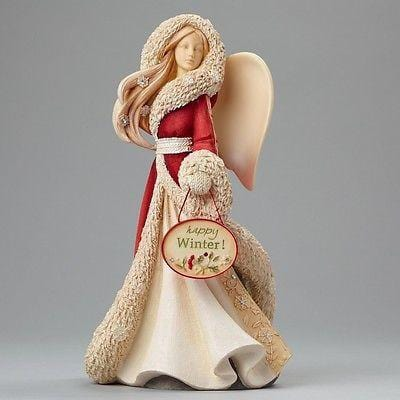 Heart Of Christmas 2015 Happy Winter Angel #4046831 NIB FREE SHIPPING 48 STATES