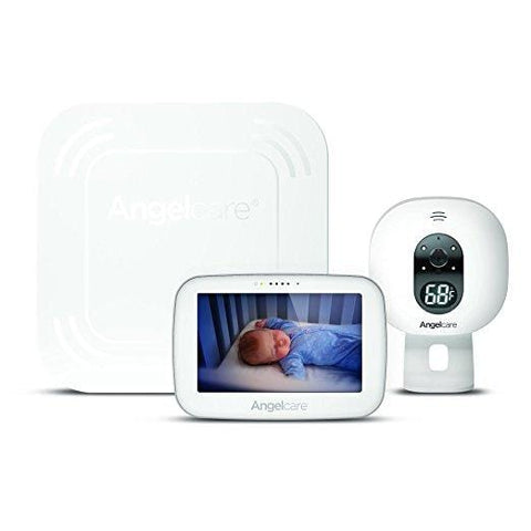 Angelcare Video & Sound w/Wireless Movement Sensor Pad Baby Monitor AC517   Free Shipping 48 States