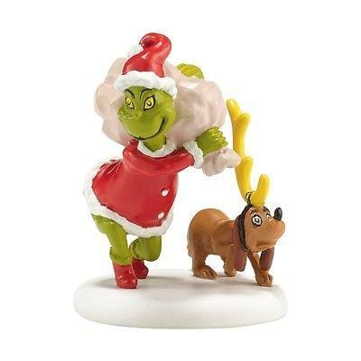 Dept 56 Grinch 2014 Next He Loaded Some Bags #4038649 NIB FREE SHIPPING 48 STATE
