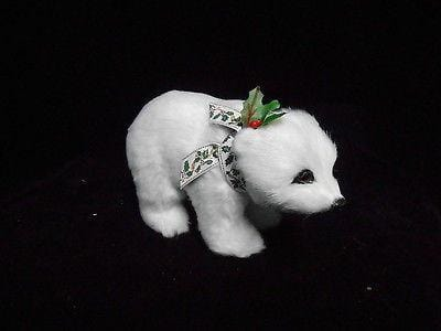 Byers Choice Carolers 2016 Walking Polar Bear Cub #6693 NEW FREE SHIP 48 STATES
