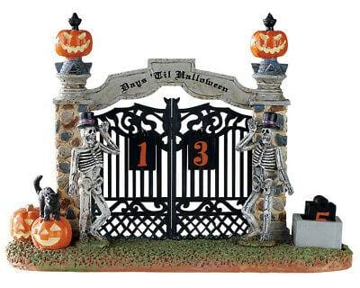 Lemax Halloween 2019 Gateway Halloween Countdown #83348 Free Shipping 48 States 2019