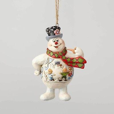 Jim Shore Frosty The Snowman 2018 Frosty Scene Ornament #6001586 NEW FREE SHIP  2018