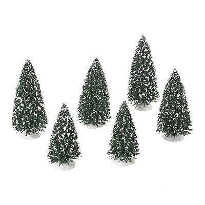 Dept 56 2016 Frosted Pine Grove Set/6 #4054236 NIB FREE SHIPPING 48 STATES