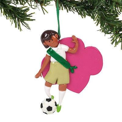 Dept 56 Girl Scout 2018 Junior Personalizablee Ornament #6000382 NEW FREE SHIP  2018