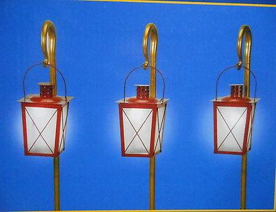 Mr. Christmas Musical Pathway Lanterns #67609 NEW