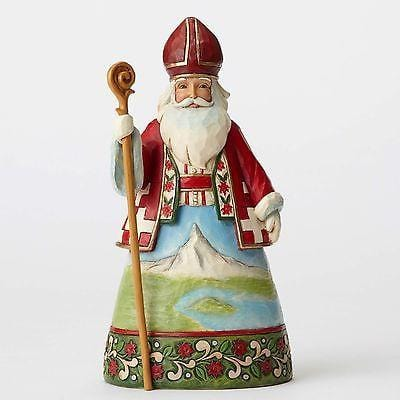 Jim Shore HWC 2016 Swiss Santa #4053711    FREE SHIPPING 48 STATES