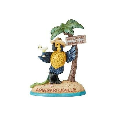 Jim Shore Margaritaville 2019 Parrot Under Palm Tree #6004009 Free Shipping 48 States 2019