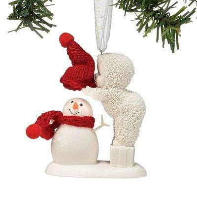 Dept 56 Snowbabies 2014 Top It Off Ornament #4037342 NIB FREE SHIPPING 48 STATES
