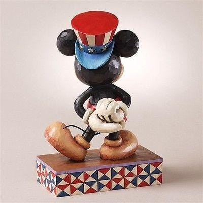 Jim Shore Disney Patriotic Mickey Star Spangled Statesman #4027133 NIB FREE SHIP