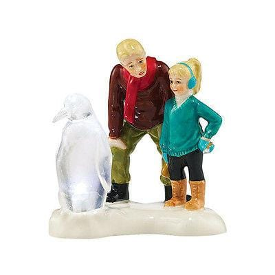 Dept 56 Snow Village 2015 Ice Sculptor In The Making #4044865 NIB FREE SHIPPING