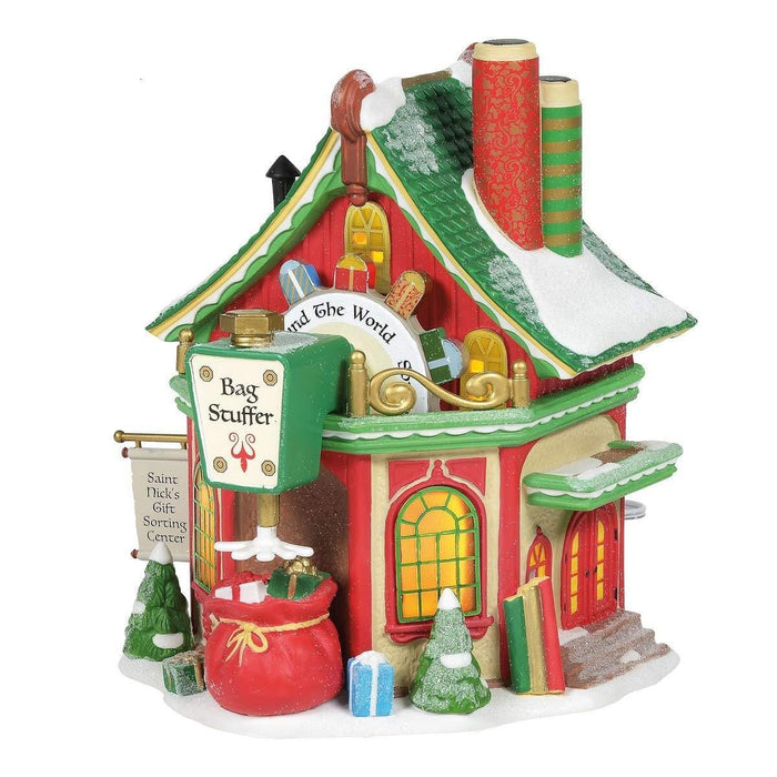 North Pole St. Nick's Gift Sorting Center  #6005431  Free Shipping