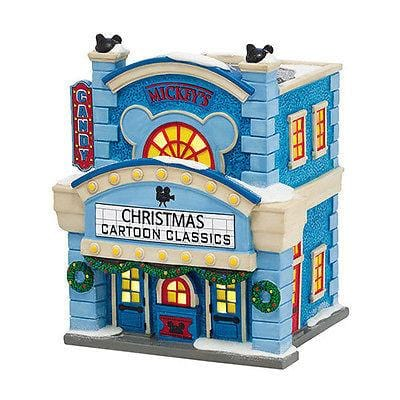 Dept 56 Disney Mickey's Cinema #4038630 NIB FREE SHIPPING 48 STATES