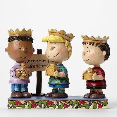 Jim Shore Peanuts 2015 Three Wise Men #4045874 NIB FREE SHIPPING 48 STATES