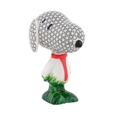 Dept 56 Peanuts Snoopy By Design Hole In One Hound #4039754 NIB FREE SHIP 48 STA