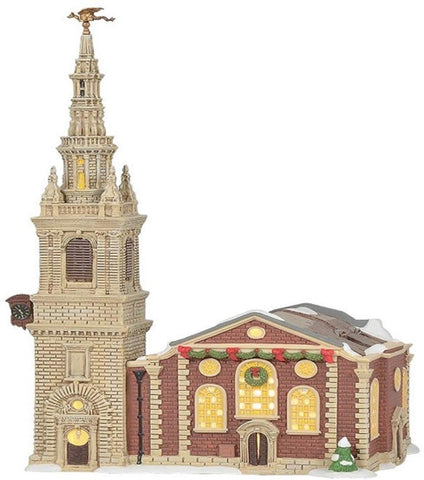 Dept 56 Dickens' Village Church of St. Mary-le-Bow 6005395 Free Shipping 48 States 2019
