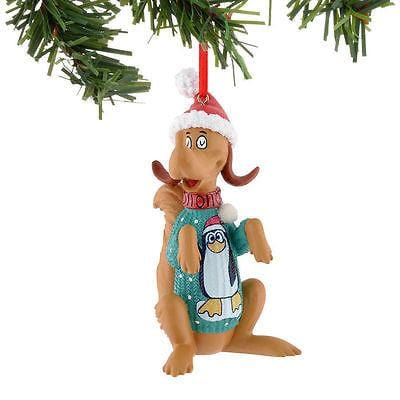 Dept 56 Grinch 2015 Max Penguin Sweater Ornament #4041053 NEW FREE SHIP 48 STATE