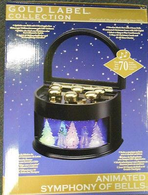 Mr. Christmas Animated Symphony Of Bells Carousel #77625 NIB FREE SHIPPING OFFER