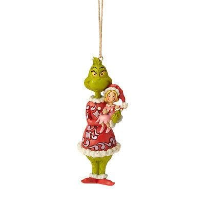 Jim Shore Grinch 2018 Grinch Holding Cindy Ornament #6002072 NEW FREE SHIPPING   2018