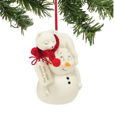 Dept 56 Snowpinions 2015 The Trouble With Cats Ornament #4045159 NEW FREE SHIP