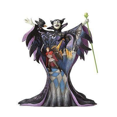 Jim Shore Disney Traditions 2016 Maleficicent w/Scene #4055439    FREE SHIP