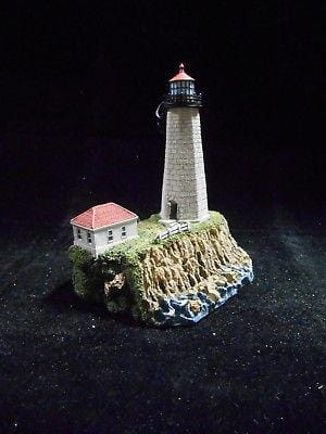 Harbour Lights Lighthouse Faulkner's Island, CT #216 FREE SHIPPING CLEARANCE