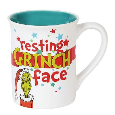 Dept 56 Grinch 2018 Drink Up Grinch Mug #6002137 NEW FREE SHIPPING 48 STATES   2018