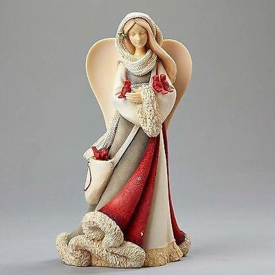 Heart Of Christmas 2016 Angel w/Cardinals #4052768     FREE SHIPPING 48 STATES