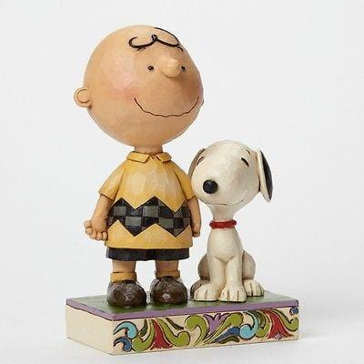 Jim Shore Peanuts 2014 Friendship Charlie Brown #4042387 NIB FREE SHIP 48 STATES