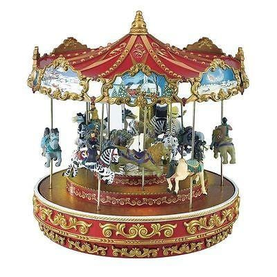Mr. Christmas Triple Decker Carousel #19870 FREE SHIPPING 48 STATES
