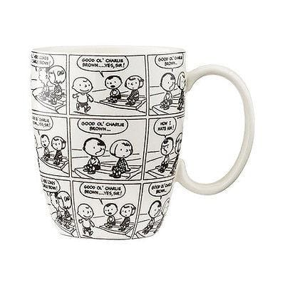 Dept 56 Peanuts 2015 Anniversary Cartoon Mug #4044903 NIB FREE SHIP 48 STATES