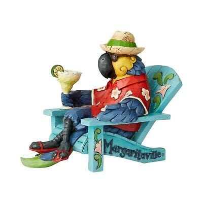 Jim Shore Margaritaville 2019 Parrot In Beach Chair #6003994 Free Shipping 48 States 2019