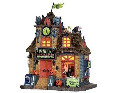 Lemax 2014 Halloween Phantom Parcel & Post #45667 NIB FREE SHIPPING OFFER