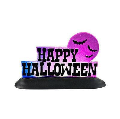 Dept 56 Halloween 2012 Happy Halloween Lit Sign #4025407 NIB FREE SHIP 48 STATES