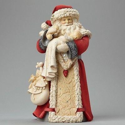 Heart Of Christmas 2015 Santa w/Baby #4046828 NIB FREE SHIPPING 48 STATES