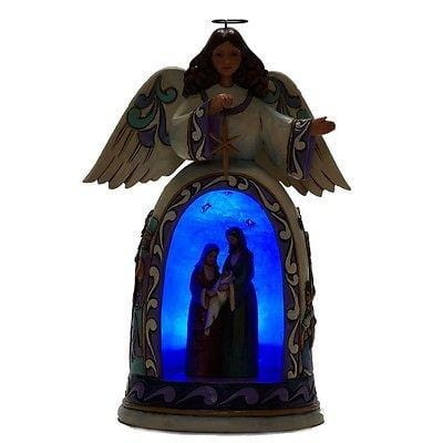Jim Shore Disney Traditions Lighted Nativity Scene #4037600 NIB FREE SHIP 48 STA