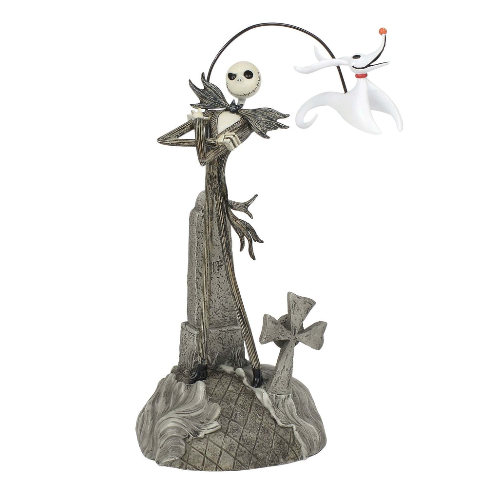 Dept 56 Halloween Nightmare 2018 Jack w/Zero Figure #6000412     2018