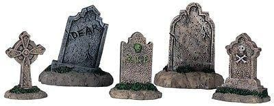 Lemax 2013 Tombstones Set/5 #44145 NIB FREE SHIPPING OFFER
