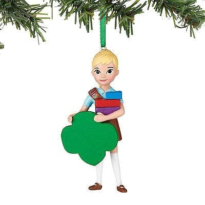 Dept 56 Girl Scout 2017 Brownie Personalizable Ornament #4052750 NEW FREE SHIP