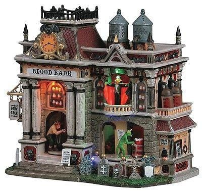Lemax 2013 The Blood Bank #55239 Animated NIB