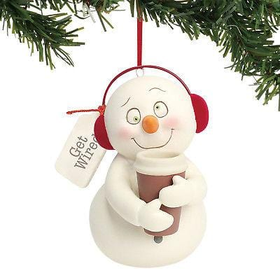 Dept 56 Snowpinions 2018 Get Wired Ornament #6001856 NEW FREE SHIPPING 48 STATES   2018