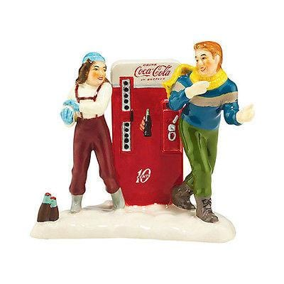 Dept 56 Snow Village 2015 Coke Adds Life #4044870 NIB FREE SHIPPING 48 STATES