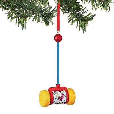 Dept 56 2015 Fisher Price Push Toy Ornament #4045024 NEW FREE SHIP 48 STATES