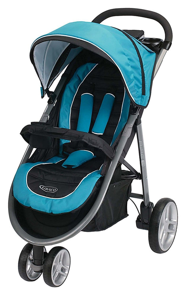 Graco Aire3 Click Connect Stroller, Poseidon    Free Shipping 48 States